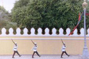 Kings guards in Cambodia