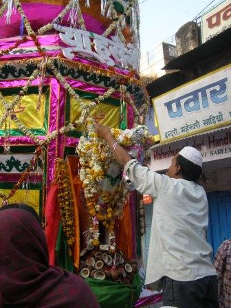 Maheshwar, India.
