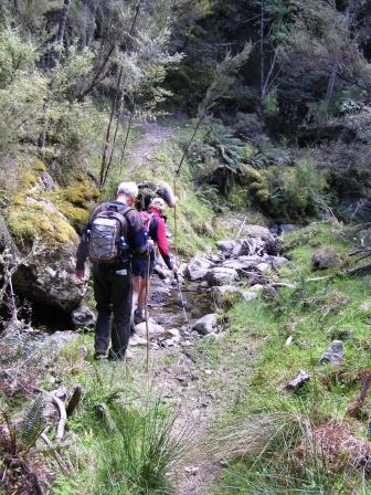 off to Shearwater Lodge - Kaikoura Wilderness Walks