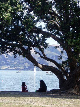 akaroa harbour  - just over the hill from christchurch