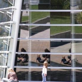 window art a Christchurch Art Gallery, NZ