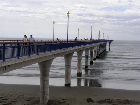 wander down the pier