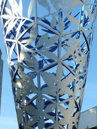 Detail of the Chalice - public art in'the square'