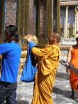 even monks are tourists