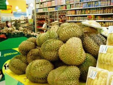 "durian .. most Westeners dont even try this ""king of fruit!"""