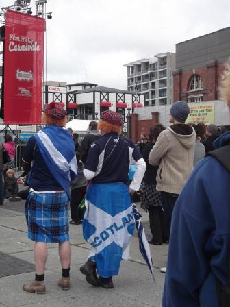 Wellington Fan Zone, RWC, and Festival