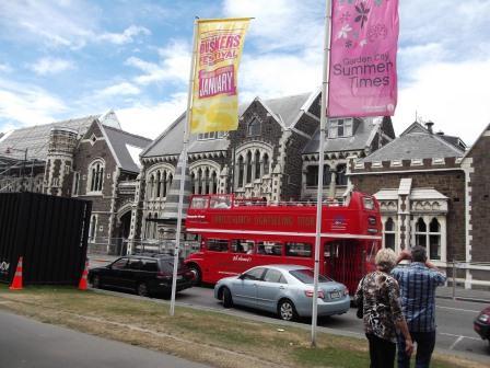 Christchurch is buzzingagain!