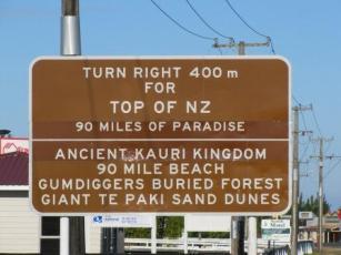 northalnd road sign web