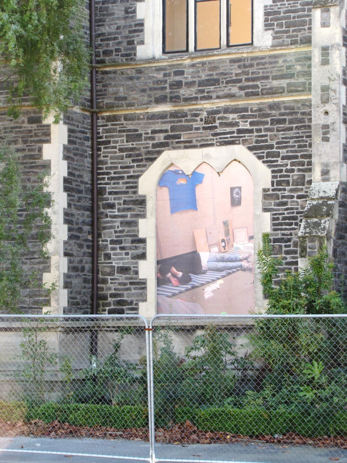 Windows in quake damagedChristchurch
