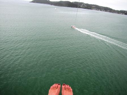 I'm scared of heights – so why parasail?