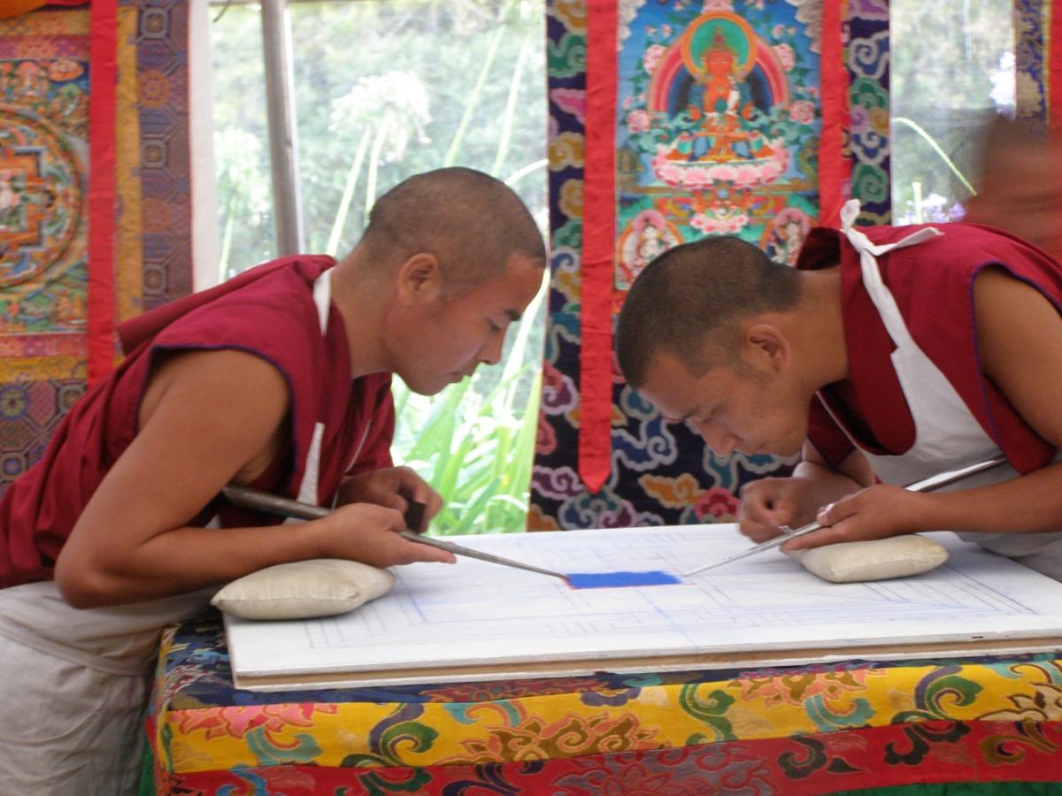Buddhist Sand Mandala