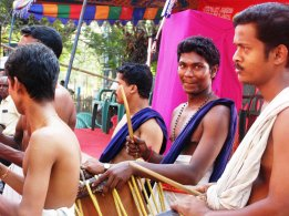 Drummer boy, Ernakulam, Kerala