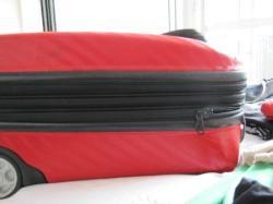 suitcase 3 zips