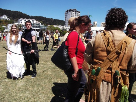 Last pics from the Hobbit Artisan Village, Waitangi Park, Wellington, NZ