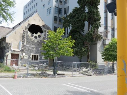 Trinty Church ( now restaurant) is to be restored