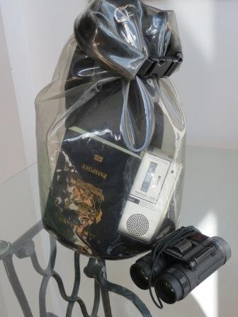 Waterproof and dust proof bags are often essential