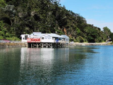 the World Famous Mangonui Fish Shop