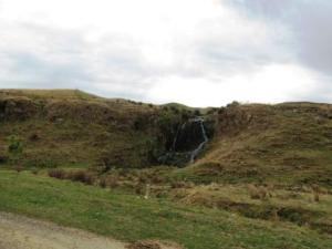 One of the waterfalls that cant be seen from the road