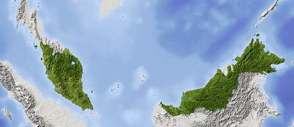 map malaysia