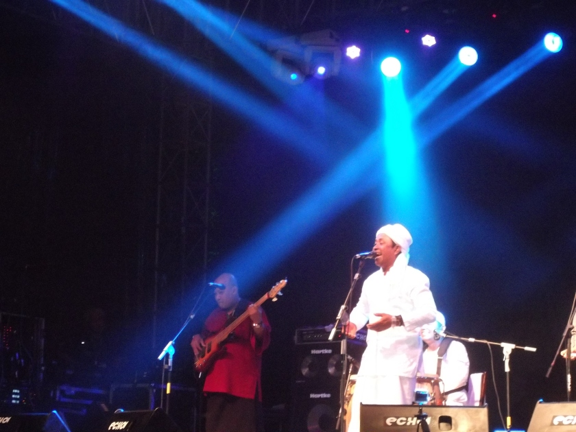 Rafly ... everyone's favourite at the Rainforest World Music Festival