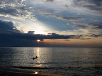 Damai Beach Resort beside the Sarawak Cultural Village and the RWMF