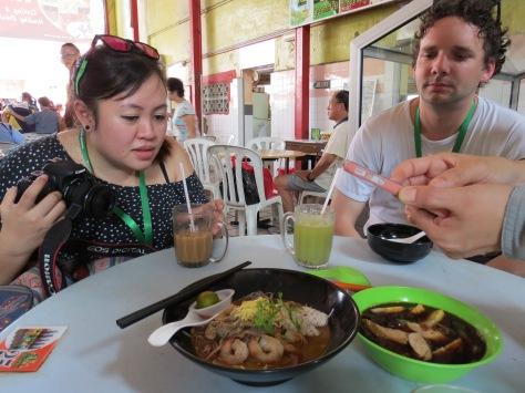 Sarawak Laksa has local pepper in it!