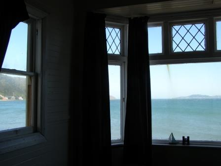 view from the room she wrote in as teenager