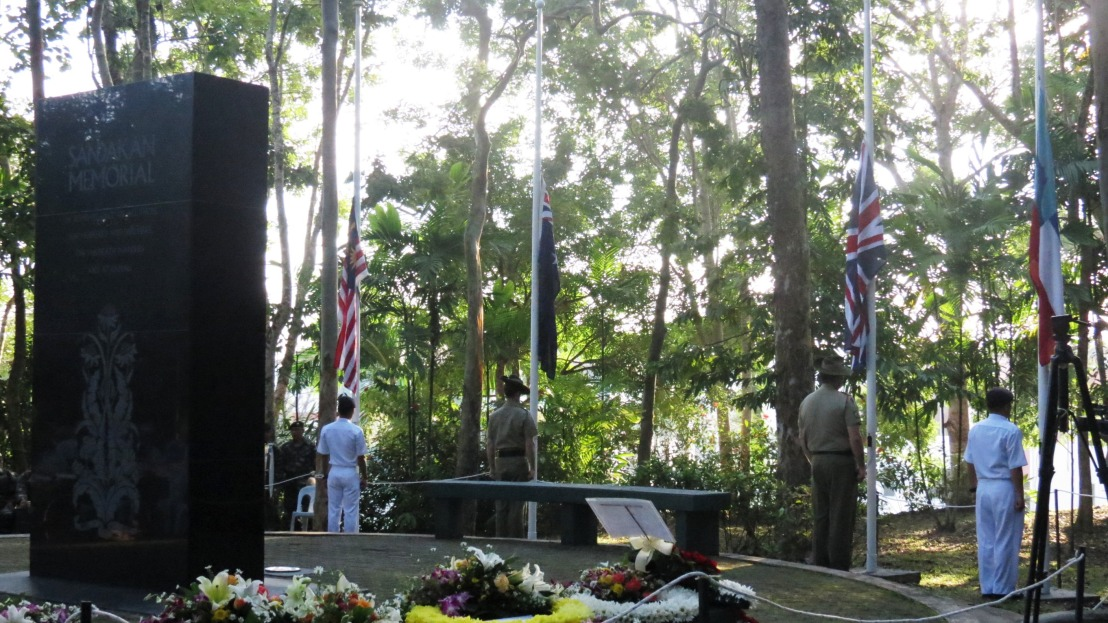Death marches: Sandakan, Sabah, BorneoMalaysia