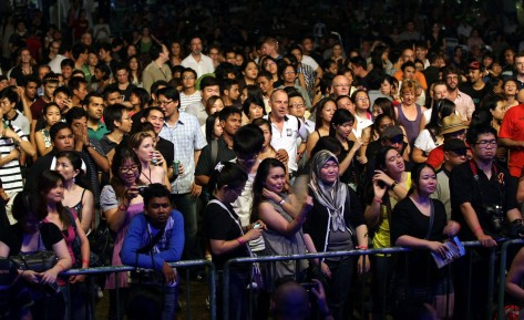 Part of the audience in 2013.