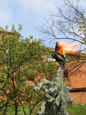 Warwel Dragons fiery breath IMG_4673