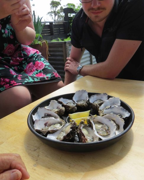 I love raw oysters - the food of love 'they' say