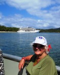 The kiwi travel writer enjoys Fiji cruising