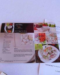 raw fish recipe