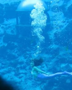 breathing underwater!