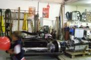 The workshop is pristine