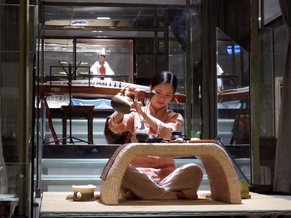 Xiamen: tea ceremonies in Wellington's sistercity