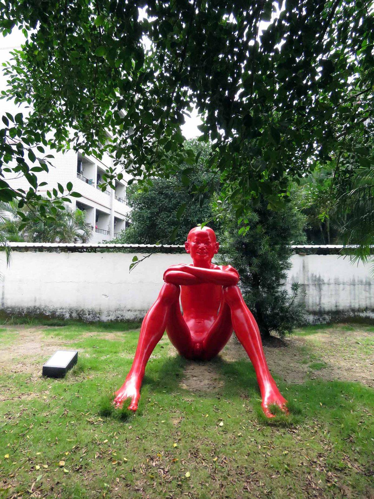 Great art at Jimei University, Xiamen,China