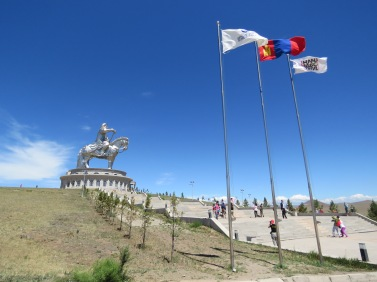 Chinggis Khan statue is 40 metres tall