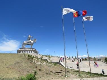 Chinggis Khan statue is 40 metres tall