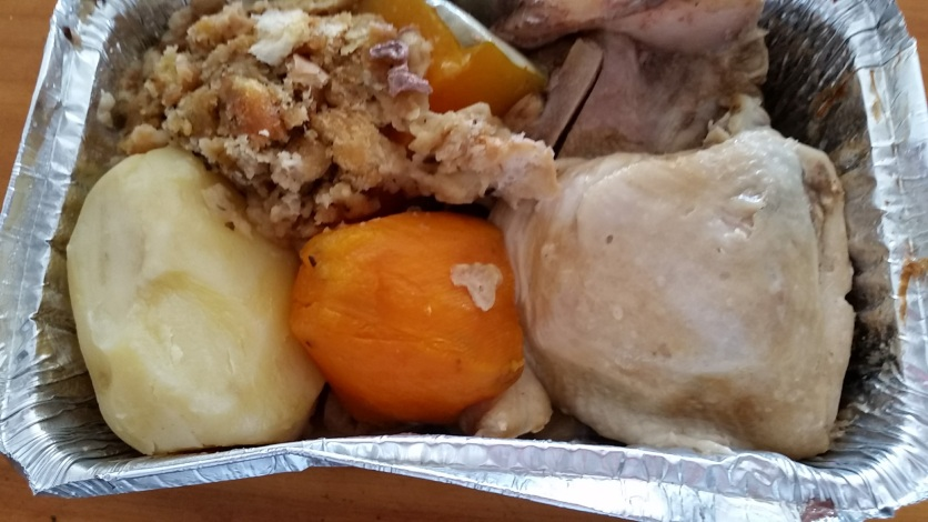 hangi with pork and chicken