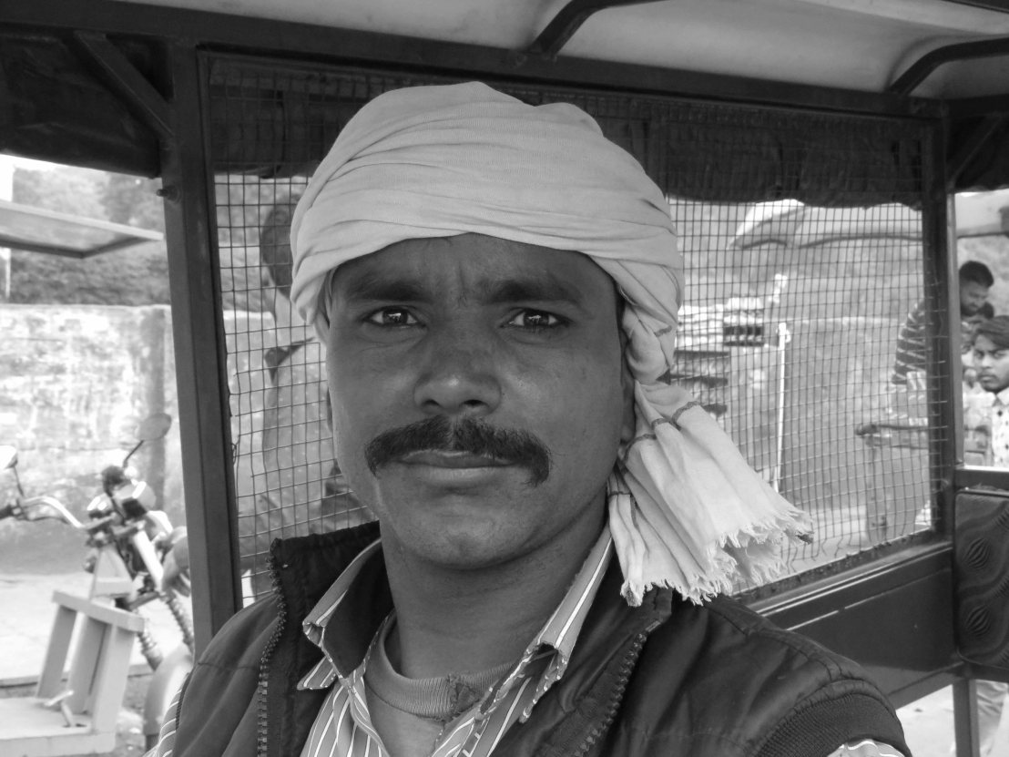 Black and white pics from India