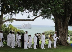 Navy play a big role on Waitangi day