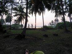 lagoon and sea