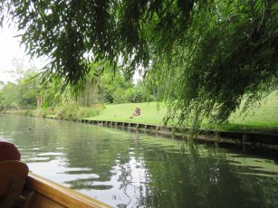 Punting on the Avon Christchurch New Zealand