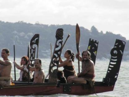 Waitangi day at Waitangi