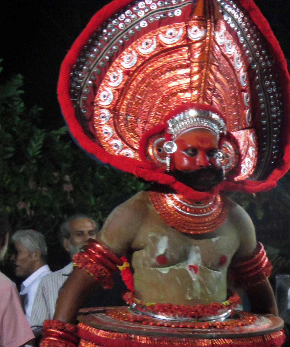 Theyyam honours the mother goddess in Kerala,India