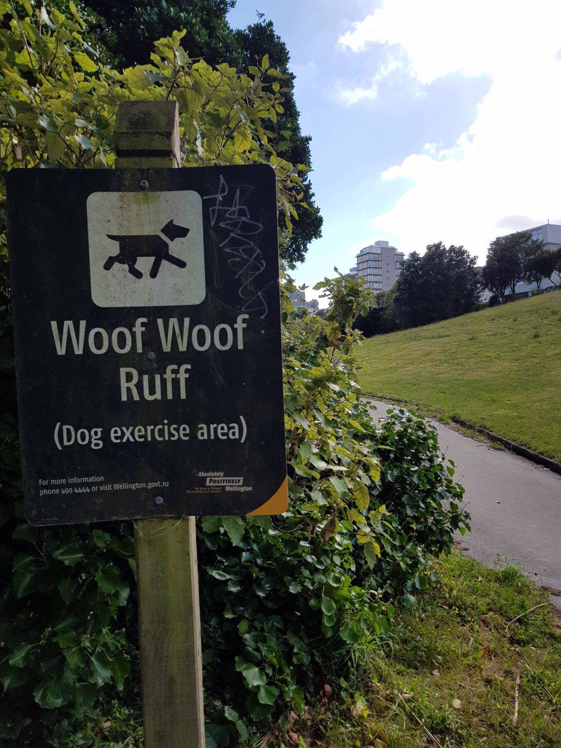 Another Monday morning walk inWellington