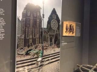 photo taken at the Quake City Museum