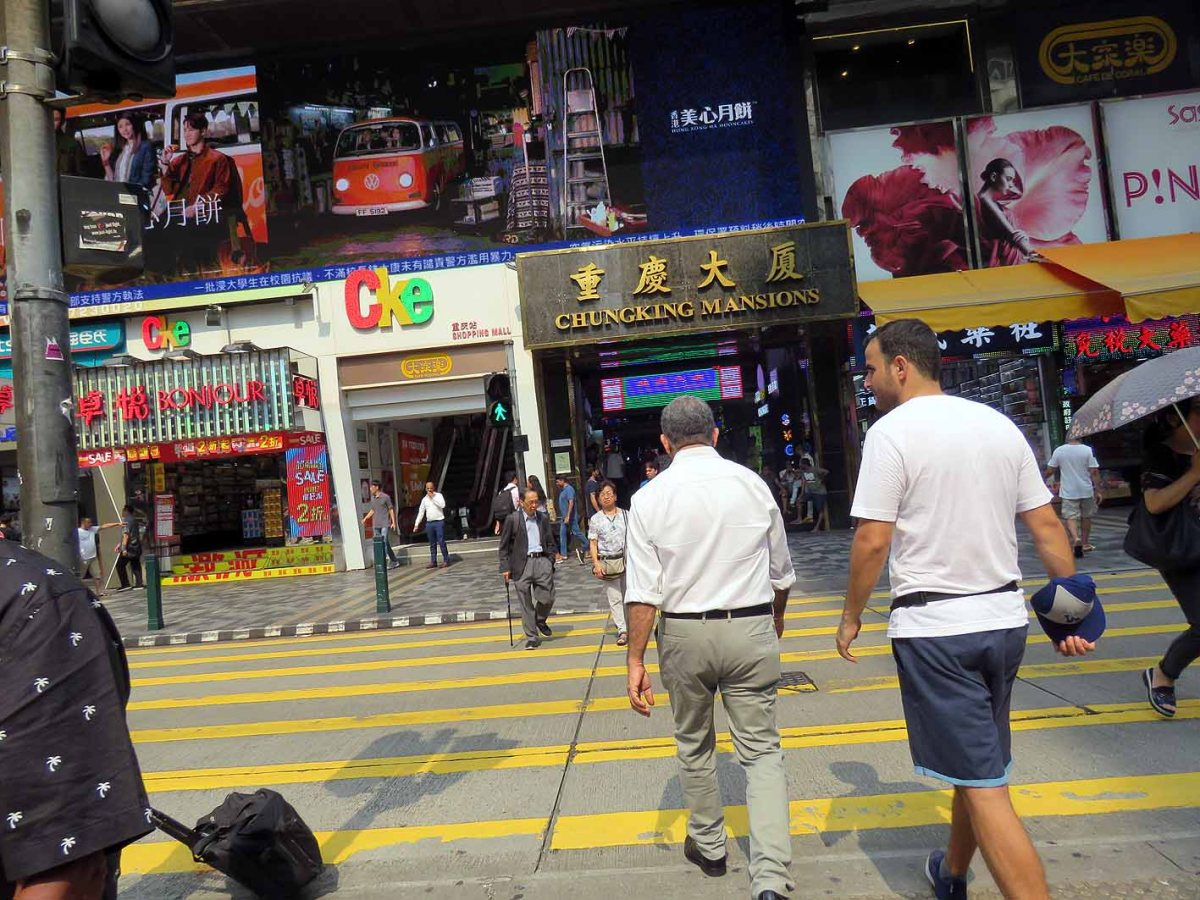 Chungking Mansions – great accommodation or den of inequity in Hong Kong?