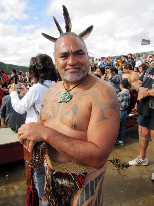 Hone at Waitangi
